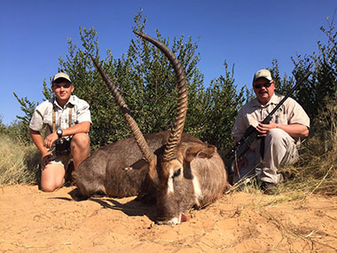 Hunting Waterbuck in South Africa with Select Worldwide Hunting Safaris
